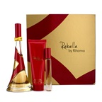 Rihanna Rebelle Coffret: EDP Spray 100ml/3.4oz + Body Butter 85g/3oz + Rollerball 6ml/0.2oz