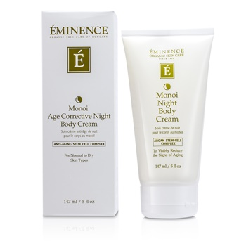 Eminence Monoi Age Corrective Night Body Cream - For Normal to Dry Skin