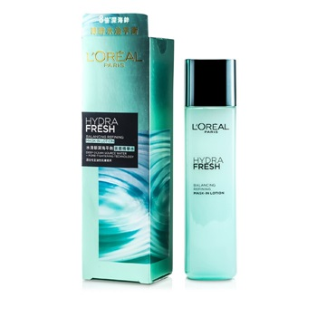 L'Oreal Hydrafresh Balancing Refining Mask-In Lotion