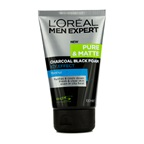 L'Oreal Men Expert Pure & Matte Icy Effect Charcoal Black Foam