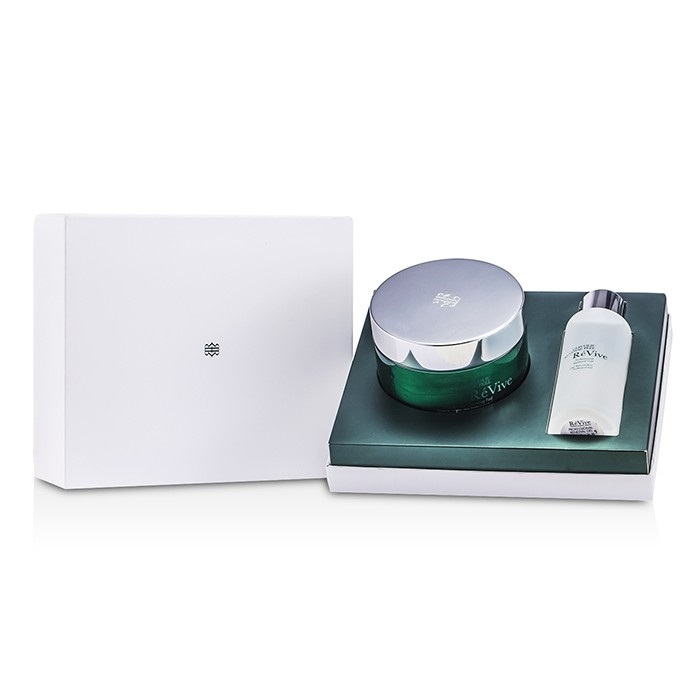 Re Vive Glycolic Renewal Peel Professional System: Cleansing Pad 30pads + Renewal Gel 118ml/4oz 2pcs OKAY OKAY-LIPPEPT5 0.15 oz 5 gr Organic Lip Balm Tube - Peppermint