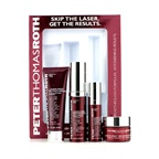 Peter Thomas Roth Laser-Free Resurfacing Kit: Scrub 30ml/1oz + Face Serum 15ml/0.5oz + Eye Serum 7.5ml/0.25oz + Gel-Cream 15g/0.5oz