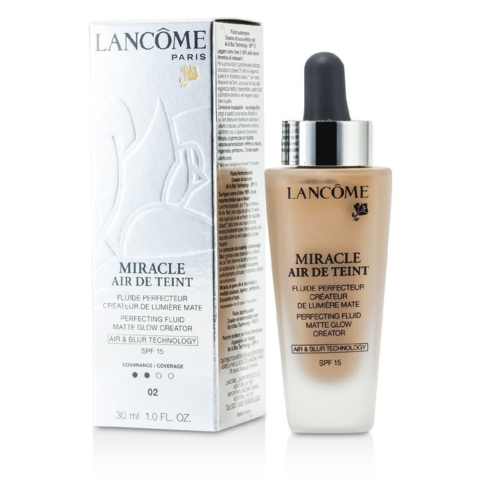 Lancome Miracle Air De Teint Perfecting Fluid SPF 15 - # 02 Lys Rose