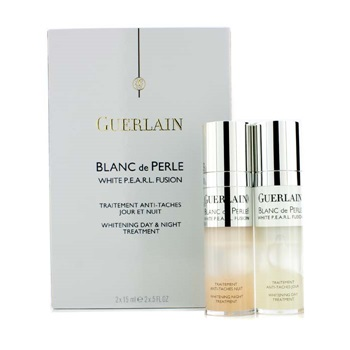 Guerlain Blanc De Perle White P.E.A.R.L. Fusion Whitening Day & Night Treatment