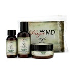Razor MD RX Shave Trio (Herbal Blend): Post Shave Lotion 60ml + Pre Shave Oil 30ml + Shave Cream 60ml