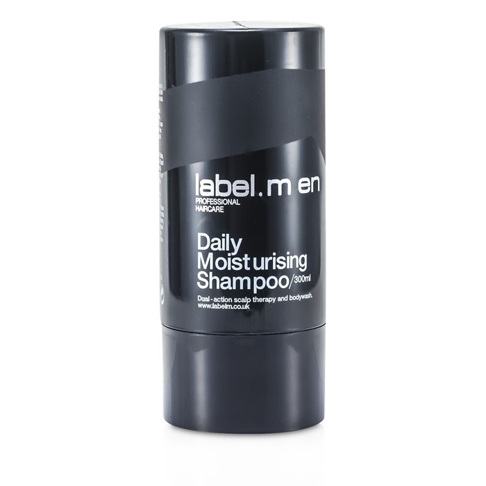 Label.M Men's Daily Moisturising Shampoo (Dual-Action Scalp Therapy and Bodywash)