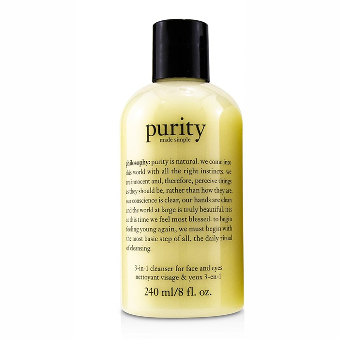 Philosophy Purity Made Simple - 3-in-1 cleanser for face and eyes