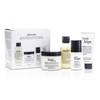Philosophy Hope for the Best Coffret: Cleasner 60ml/2oz + Mositurizer 60ml/2oz + Eye Cream 15ml/0.5oz + Hand Cream 30ml/1oz