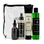 Philip B Four Step Hair & Scalp Treatment Set - Paraben Free (For All Hair Types)