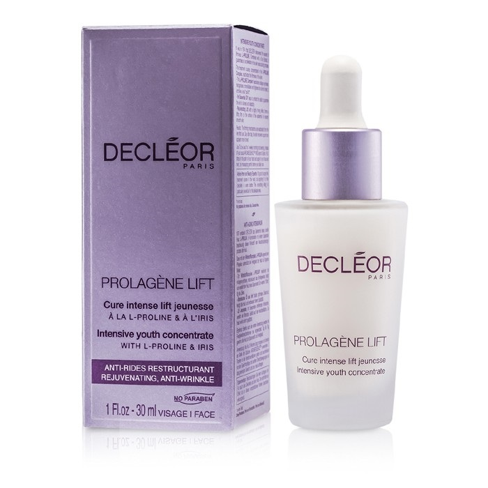 Decleor Prolagene Lift Intensive Youth Concentrate, 1 Fluid Ounce CHEPARK ANTI-SLIP FRICTION CREAM 2.7OZ TUB LUBE