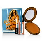ModelCo Glow Baby Glow (1x Glow Summer Bronze Powder, 2x Shine Ultra Lip Gloss)