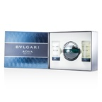 Bvlgari Aqva Pour Homme Coffret: EDT Spray 100ml/3.4oz + Shampoo & Shower Gel 75ml/2.5oz + After Shave Emulsion 75ml/2.5oz