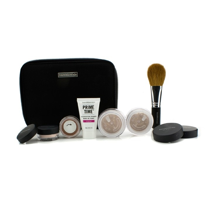 BareMinerals BareMinerals Get Started Complexion Kit For Flawless Skin - # Medium Beige