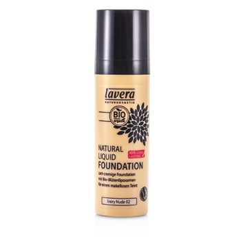 Lavera Natural Liquid Foundation (10H Long Lasting) - # 02 Ivory Nude