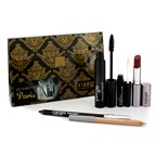 Cargo Let's Meet In Paris Holiday Kit: 1x Lip Color, 1x Eye Pencil, 1x Lip Primer, 1x Lip Liner, 1x Mascara