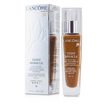 Lancome Teint Miracle Bare Skin Foundation Natural Light Creator SPF 15 - # 10 Praline