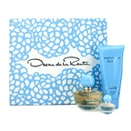 Oscar De La Renta Something Blue Coffret: EDP Spray 50ml/1.7oz + Body Lotion 100ml/3.4oz + EDP Miniature 4ml/0.13oz