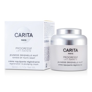 Carita Progressif Lift Fermete Genesis Of Youth Night Regenation Re-plumping Cream