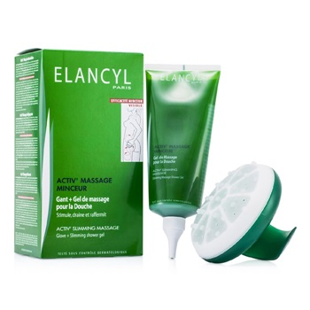 Galenic Activ' Slimming Massage kit: Glove + Slimming Shower Gel 200ml/6.7oz