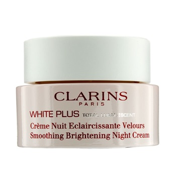 Clarins White Plus Total Luminescent Smoothing Brightening Night Cream