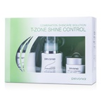 Pevonia Botanica Combination Skincare Solution - T-Zone Shine Control: Cleanser 50ml/1.7oz + Lotion 50ml/1.7oz + Cream20ml/0.7oz