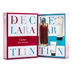 Cartier Declaration Coffret: EDT Spray 100ml/3.3oz + All Over Shampoo 100ml/3.3oz + After Shave Emulsion 30ml/1oz