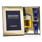 Boucheron Boucheron Coffret: EDP Spray 100ml/3.3oz + 2x Soothing After Shave Balm 50ml/1.6oz