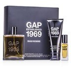 Gap Established 1969 Man Coffret: EDT Spray 100ml/3.4oz + Travel Spray 15ml/0.5oz + Hair & Body Wash 100ml/3.4oz