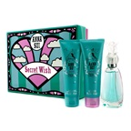 Anna Sui Secret Wish Coffret: EDT Spray 50ml/1.7oz + Body Lotion 90ml/3oz + Shower Gel 90ml/3oz