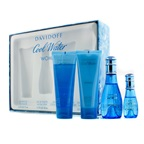 Davidoff Cool Water Coffret: EDT Spray 50ml/1.7oz + EDT Spray 15ml/0.5oz + Body Lotion 75ml/2.5oz + Shower Gel 75ml/2.5oz
