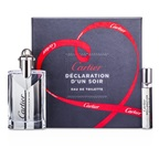 Cartier Declaration d'un Soir Coffret: EDT Spray 50ml/1.6oz + EDT Spray 9ml/0.3oz