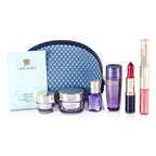 Estee Lauder Travel Set: Optimizer + Neck Creme + Perfectionist [CP+R] + Eye Creme + Eye Mask + Lipstick #55 + Lip Gloss #30 & Concealer #02 + Bag