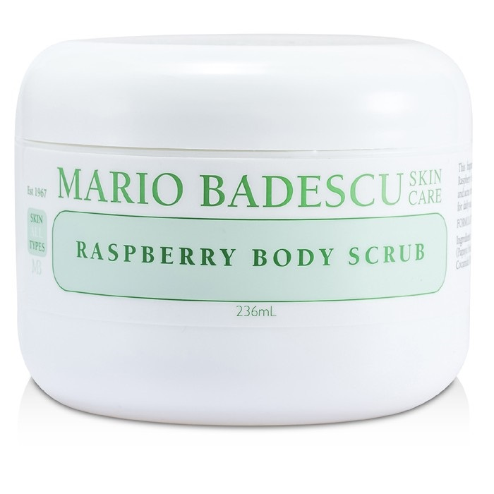 Mario Badescu Raspberry Body Scrub - For All Skin Types