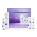 Glytone Step-Up Kit Plus (For Normal to Oily Skin): Gel Wash 200ml + Facial Lotion 60ml + Exfoliating Lotion 60ml + Peel Gel 60ml