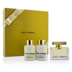 Dolce & Gabbana The One Coffret: EDP Spray 75ml/2.5oz + Body Lotion 100ml/3.3oz + Shower Gel 100ml/3.3oz