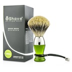 EShave Short Brushes Nickel Pastic Handle - # Green