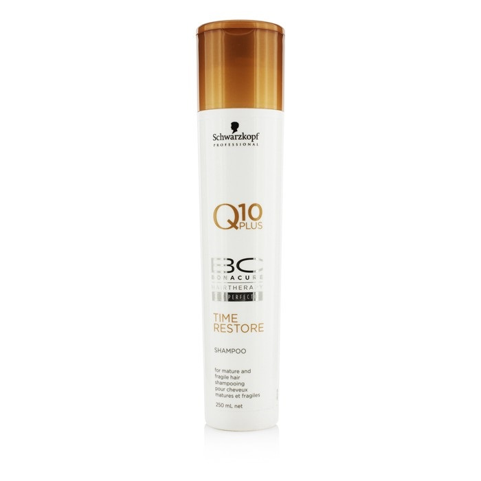 8f0ca059f3 Schwarzkopf BC Time Restore Q10 Plus Shampoo (For Mature and Fragile Hair).  Loading zoom