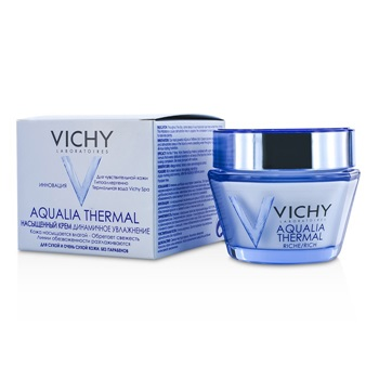 Vichy Aqualia Thermal Dynamic Hydration Rich Cream - For Dry To Very Dry Skin