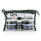 EShave On The Go Travel Kit (Lavender): Shave Cream 30g + After Shave Soother 30g + Pre Shave Oil 15g +TSA Bag