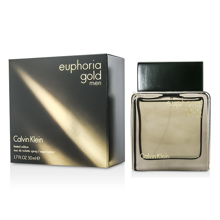 Calvin Klein Euphoria Gold Men EDT Spray (Limited Edition)