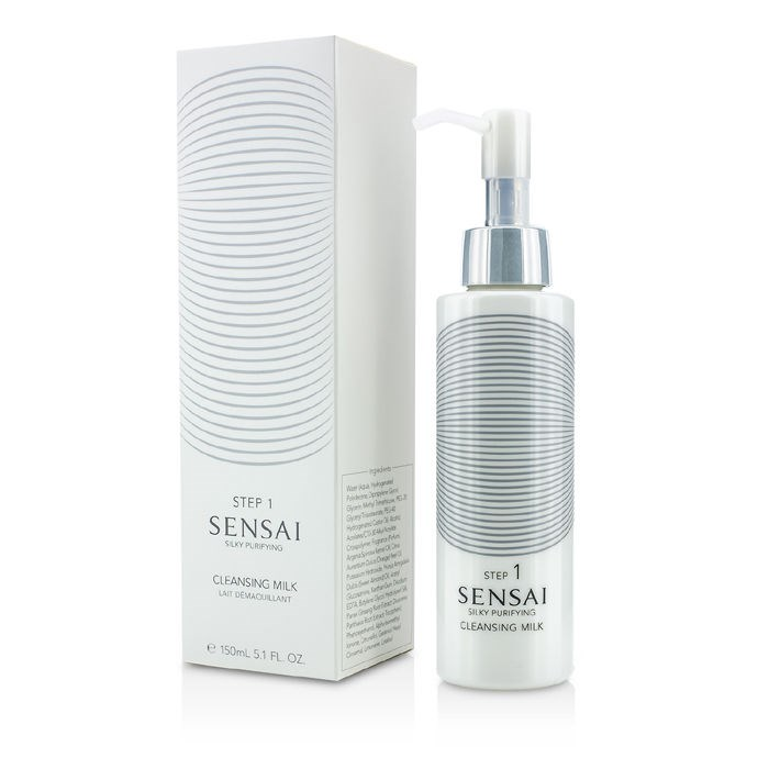 Kanebo - Sensai Silky Purifying Cleansing Cream (New Packaging) -125ml/4.3oz Eternal Youth Promise Coenzyme Q10 COQ10 Serum with 20% Matrixyl 3000 - 30m 1oz