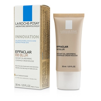 La Roche Posay Effaclar BB Blur - #Light/ Medium Shade
