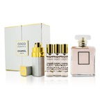 Chanel Coco Mademoiselle Coffret: EDP Spray 50ml/1.7oz + Purse Spray with 3 Refills 4x7.5ml