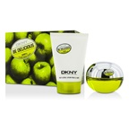 DKNY Be Delicious Coffret: EDP Spray 50ml/1.7oz + Body Lotion 100ml/3.4oz 5AF2