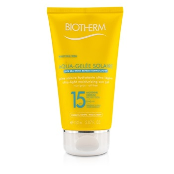 Biotherm Ultra Light Moisturizing Sun Gel SPF15 (Aquagelee)