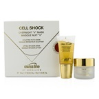 "Swissline Cell Shock Overnight ""V"" Mask: Sculpting Patch-Mask 35ml/1.17oz + Lifting Infusion-Mask 30ml/1oz"