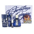 Christian Audigier Christian Audigier Coffret: EDT Spray 100ml/3.4oz + Hair & Body Wash 90ml/3oz + Deodorant Stick 78g/2.75oz + EDT Spray 7.5ml/0.25oz 515090