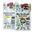 Dewytree 3 Step Black Sheet Mask - Vita Capsule