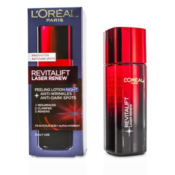 L'Oreal Revitalift Laser Renew - Anti-Wrinkles+Anti-Dark Spots Peeling Lotion Night