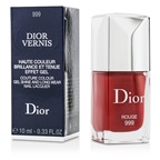Christian Dior Dior Vernis Couture Colour Gel Shine & Long Wear Nail Lacquer - # 999 Rouge